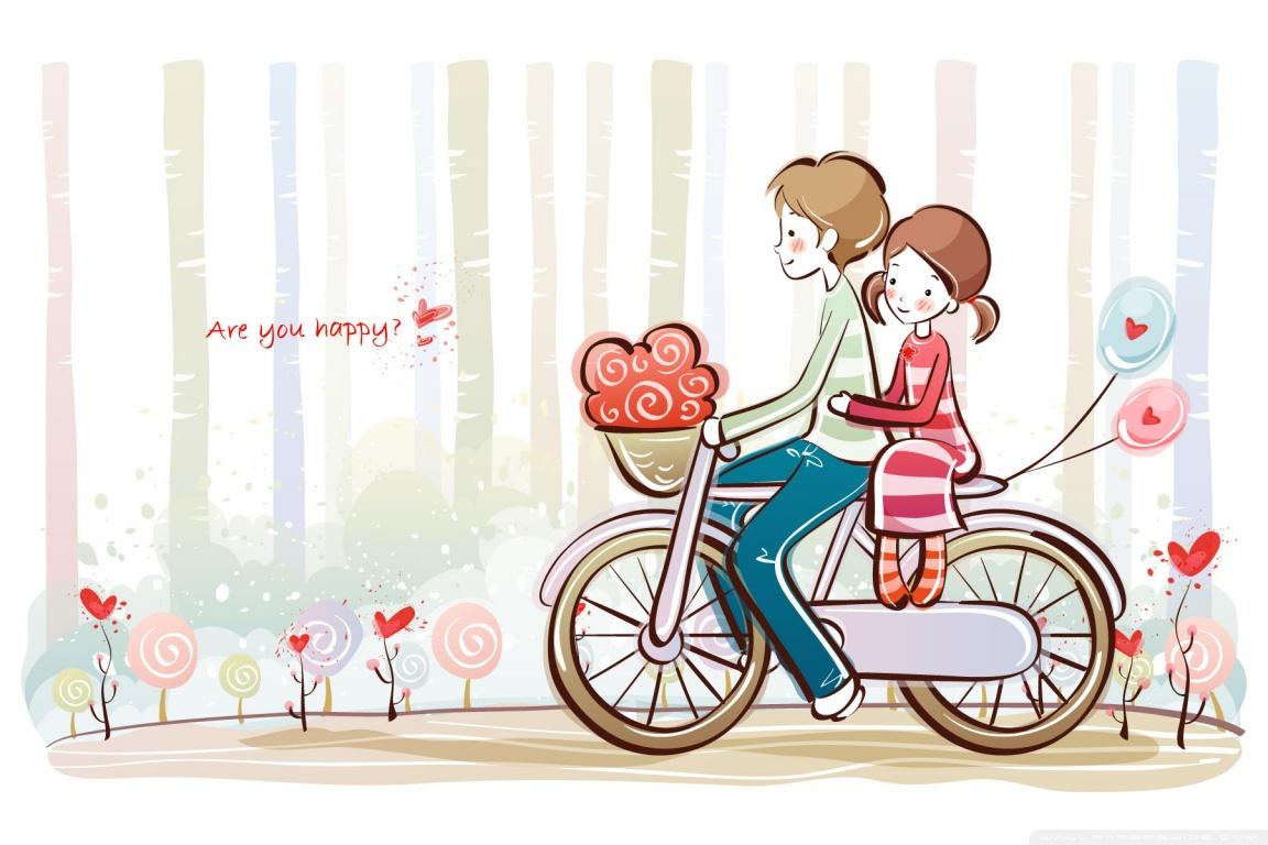 Valentine Couple Wallpaper
