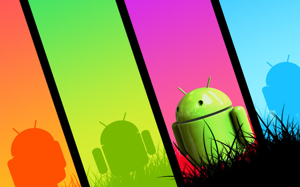 Colorful android wallpaper