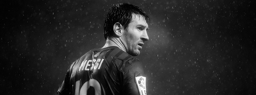 Messi facebook cover photo
