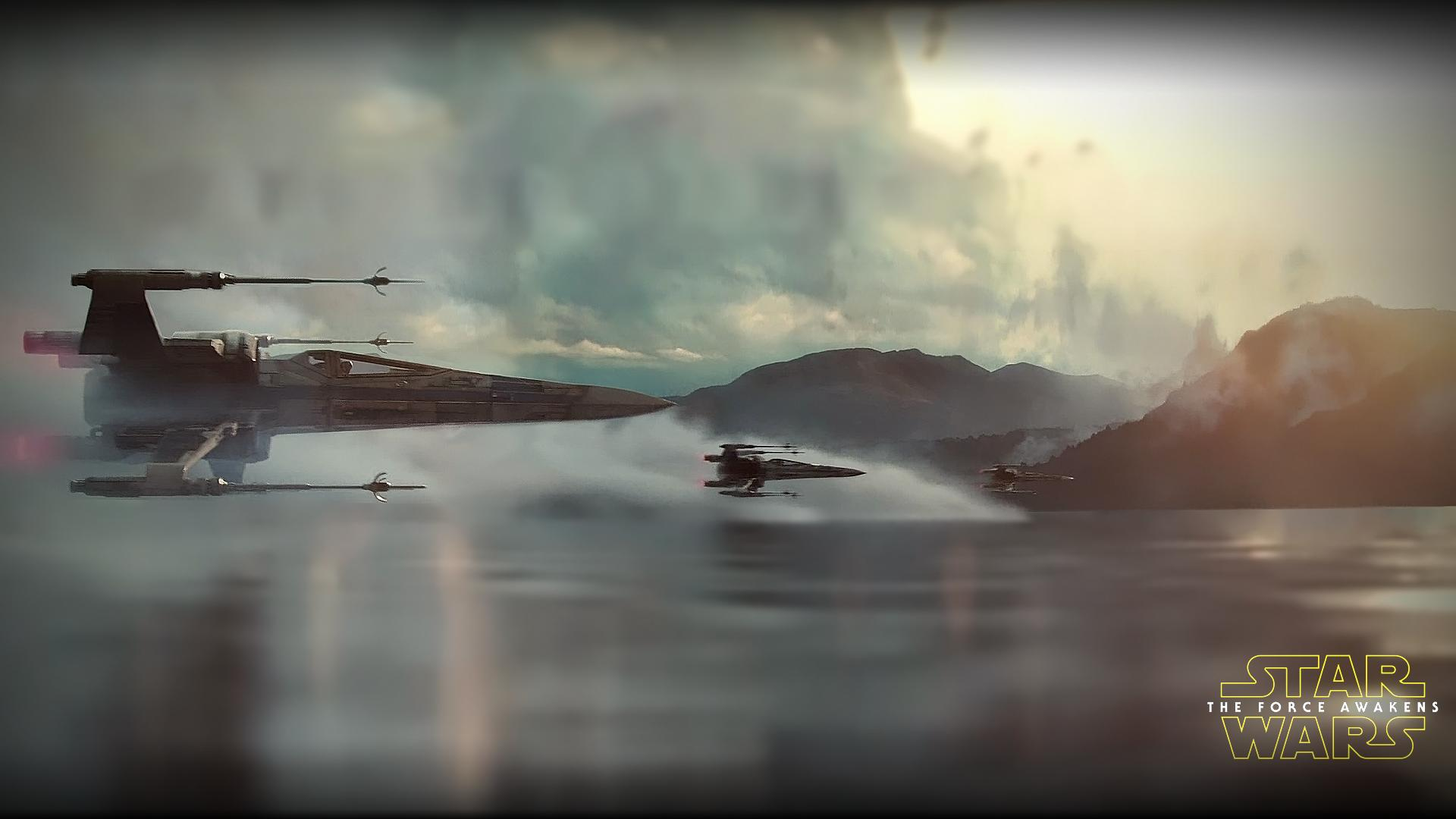 star wars the force awakens wide wallpaper