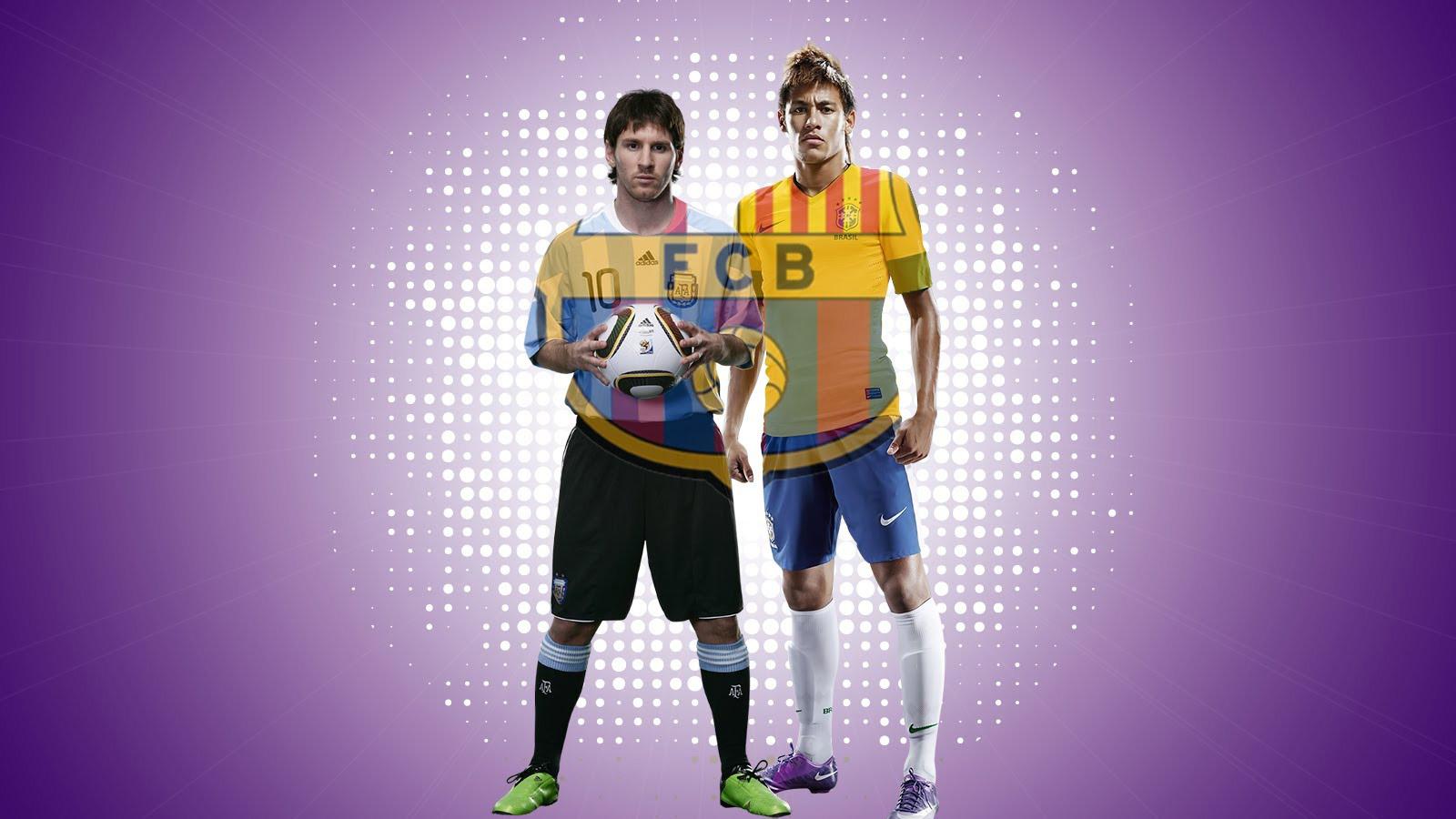 Messi Neymar HD Wallpaper