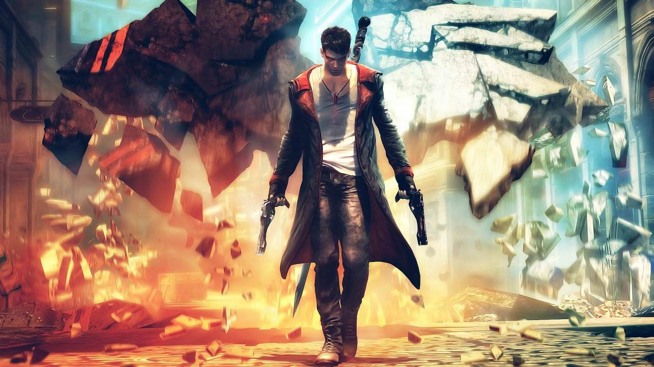 Devil May Cry Definitive Edition Wallpaper