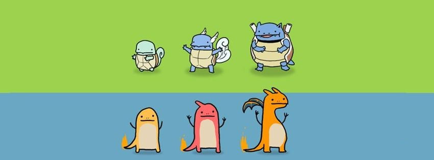 Pokemon Facebook cover photo