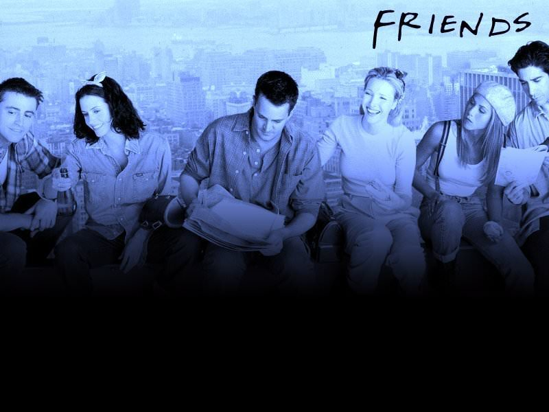friends tv show wallpaper